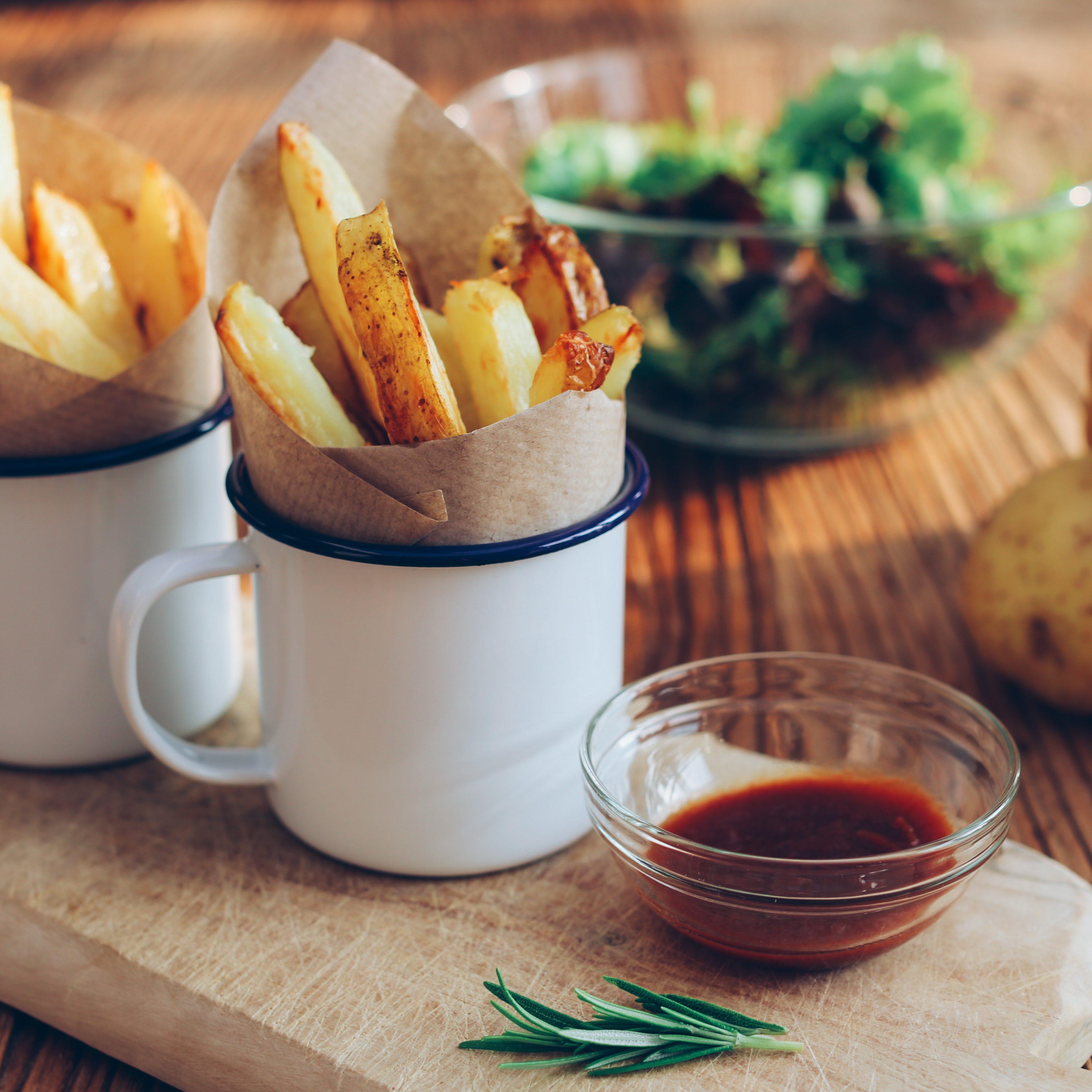 High friet, kleine friet
